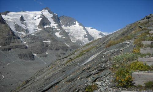 Zdjęcie AUSTRIA / Taury Wielkie / okolice lodowca Pasterze / na szlaku