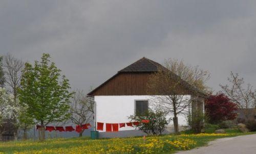 Zdjecie AUSTRIA / oberösteraich / gdzies na wsi / pranie