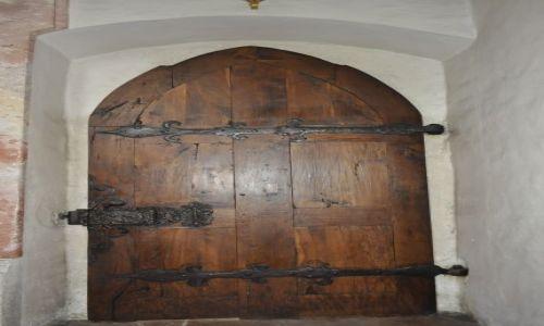 Zdjecie AUSTRIA / oberösteraich / kosciol St.Martenn / drzwi