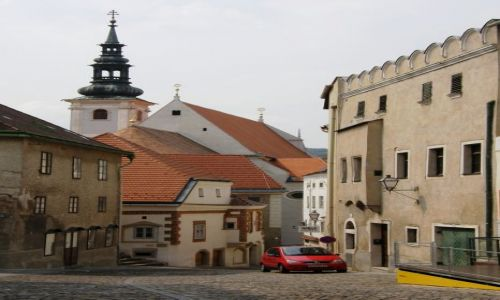 AUSTRIA / Górna Austria / Kerms / Austriackie miasteczko