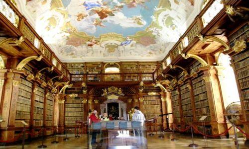 Zdjęcie AUSTRIA / Dolna Austria / Melk / Opactwo w Melk biblioteka