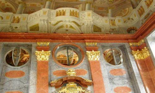 Zdjęcie AUSTRIA / Dolna Austria / Melk / Opactwo w Melk sala lustrzana