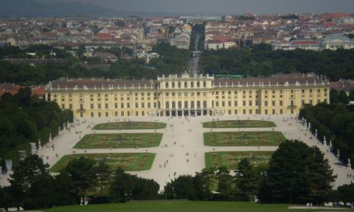 Zdjecie AUSTRIA / Wiedeń / Pałac Schönbrunn / Pałac Schönbrunn