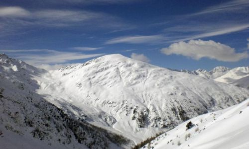 AUSTRIA / -Tyrol Wschodni / Matrei / Widok na szczyty