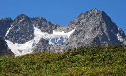 Zdjecie AUSTRIA / Tirol / Dolina Pitztal / topniejacy śnieg