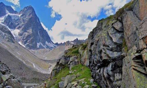Zdjecie AUSTRIA / Tirol / Dolina Pitztal / granit
