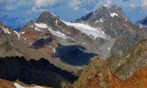 Zdjecie AUSTRIA / Tirol / Dolina Pitztal / widok  ze szczytu Hinterer 3440m npm