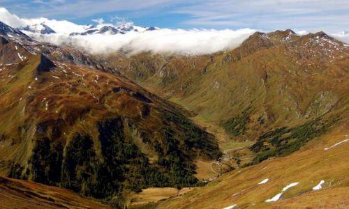 Zdjecie AUSTRIA / Grupa Radstädter w Taurach Niskich / Dolina Mury i Grupa Ankogel / Taury w jesienn