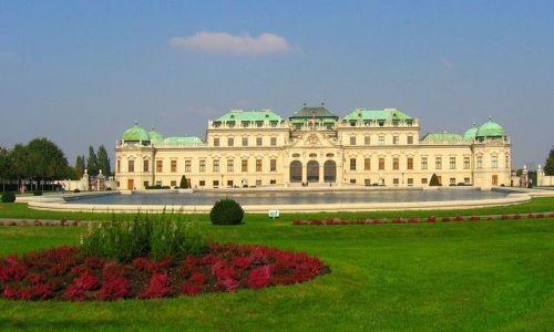 AUSTRIA / płn-wsch część Austrii / Wiedeń /  Pałac Schonbrunn