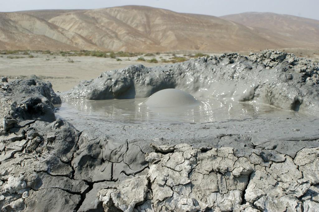 Zdjęcia: Azerbejdżan, Wulkan błotny, AZERBEJDżAN