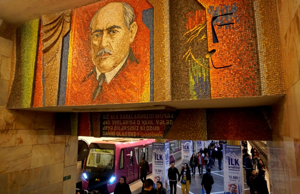 Zdjęcia: Baku, Baku, Stacja metra Nariman Narimanov, AZERBEJDżAN