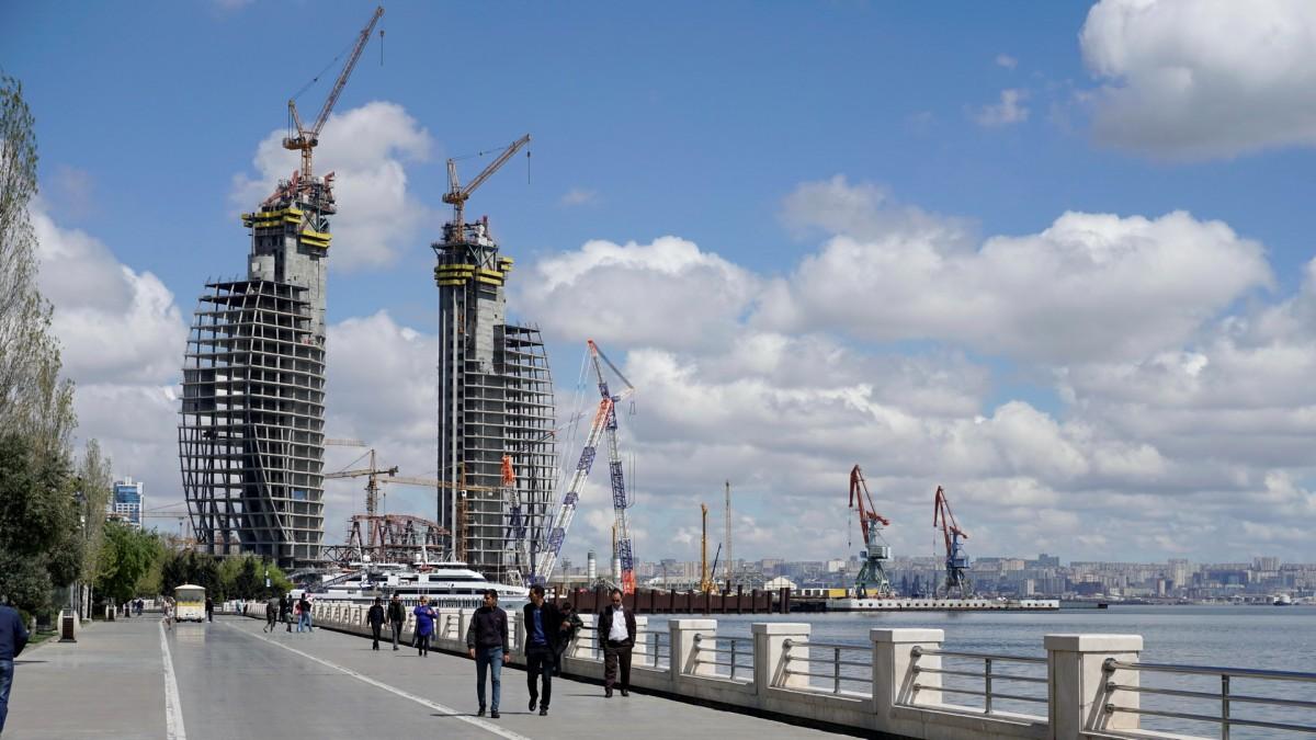 Zdjęcia: Baku, Baku, Promenada i port w Baku, AZERBEJDżAN