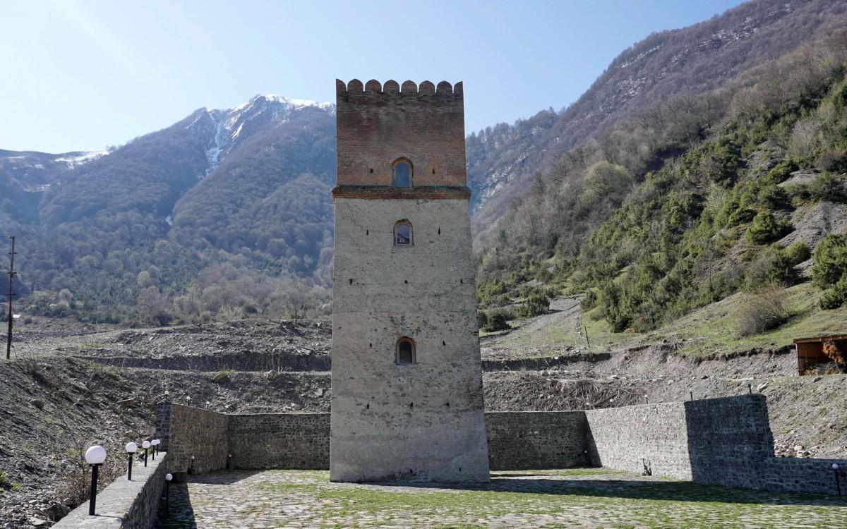 Zdjęcia: Ilisu, Szeki, Wieża Sumug, AZERBEJDżAN