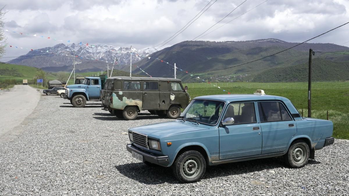 Zdjęcia: Təzəkənd, Szirwan, Przegląd radzieckiej techniki motoryzacyjnej, AZERBEJDżAN