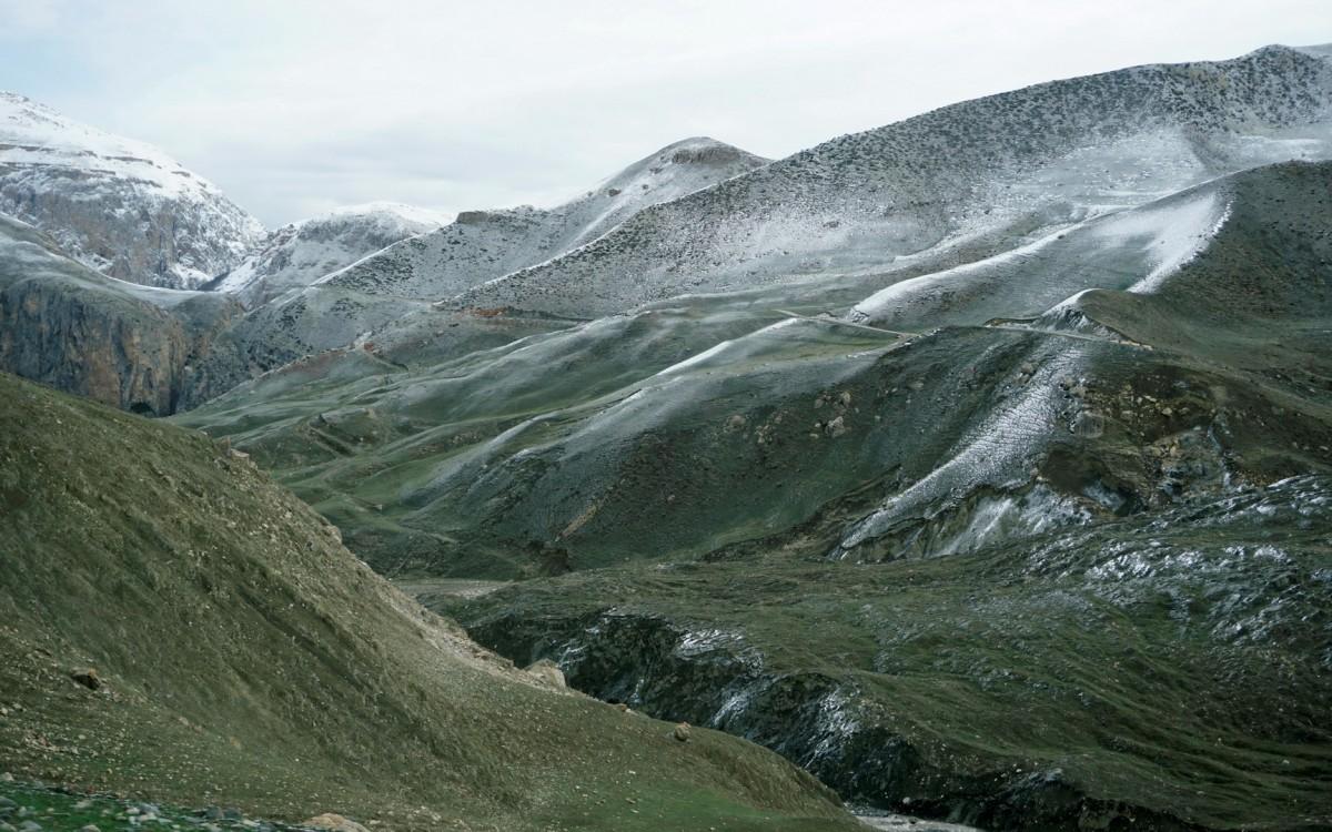 Zdjęcia: Xinaliq, Quba, Droga do Chynałyg (Xınalıq), AZERBEJDżAN