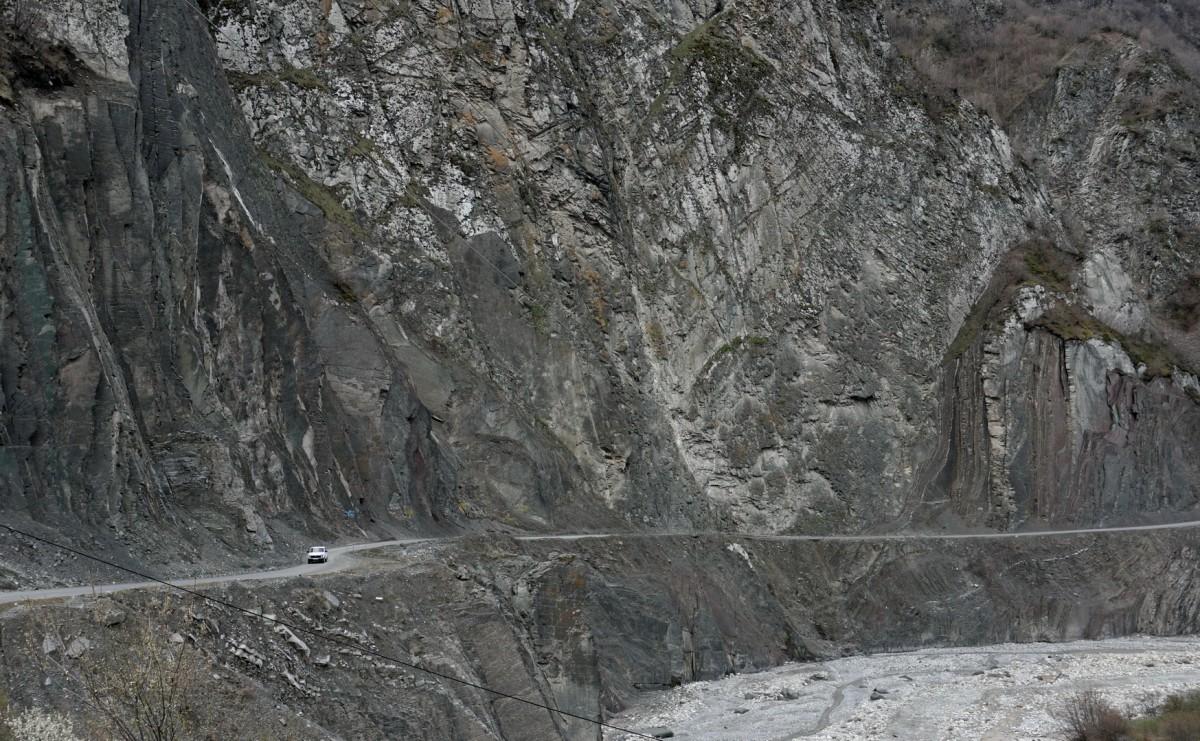 Zdjęcia: Lahic, Szirwan, Droga do Lachicz (Lahıc), AZERBEJDżAN