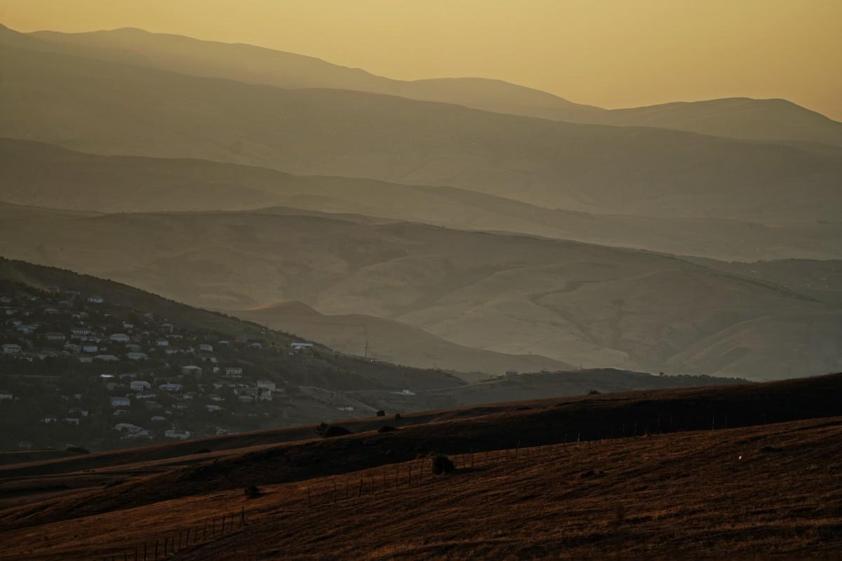Zdjęcia: płd. Azerbejdżan, płd. Azerbejdżan, Widok na Barzavu z, AZERBEJDżAN
