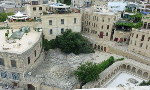 Zdjęcie AZERBEJDżAN / - / Baku / Baku - łaźnie tureckie, widok z baszty dziewiczej