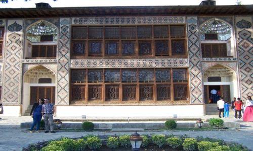 Zdjęcie AZERBEJDżAN / Seki / Seki / pałac chanów