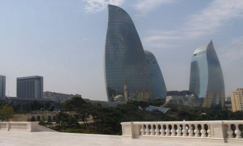 Zdjecie AZERBEJDżAN / Baku / okoloce Flame Towers / Flame Towers