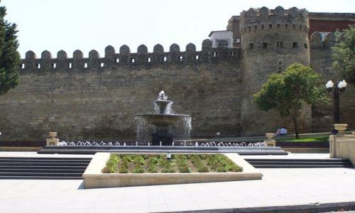 Zdjęcie AZERBEJDżAN / Baku / Baku / Mury Iceri Seher