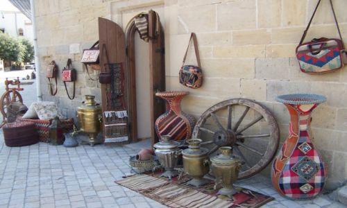 Zdjęcie AZERBEJDżAN / Baku / Stare Miasto / Made in Azerbejdżan II