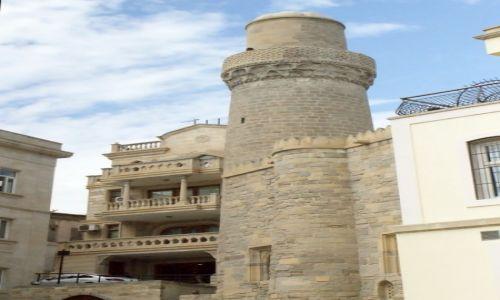 Zdjęcie AZERBEJDżAN / - / Baku / nowe życie starego miasta