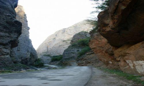 Zdjęcie AZERBEJDżAN / Kaukaz / Chinaliq / w drodze do Chinaliq
