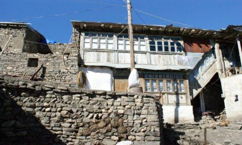 Zdjęcie AZERBEJDżAN / Kaukaz / Chinaliq / nasz pensjonat