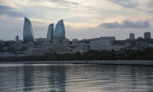 Zdjęcie AZERBEJDżAN / Baki / Baku / Wieczorne Baku