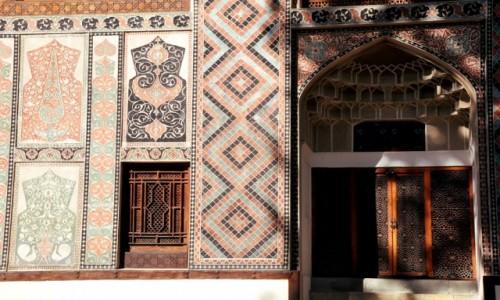 Zdjęcie AZERBEJDżAN / Północny Azerbejdżan / Szeki / Pałac chanów szekijskich