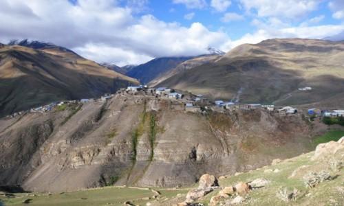 Zdjęcie AZERBEJDżAN / Xinaliq / Xialiq / Xinaliq - samotna wioska