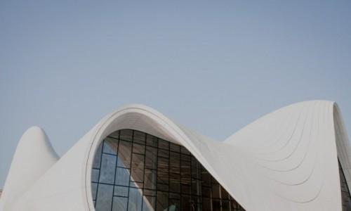 Zdjecie AZERBEJDżAN / Baku / Baku - Heydar Aliev Centre / Baku - Heydar Aliev Centre