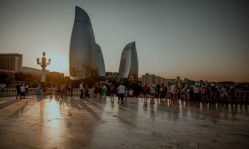 Zdjecie AZERBEJDżAN / Baku / Baku - Flame Towers / Baku - Flame Towers