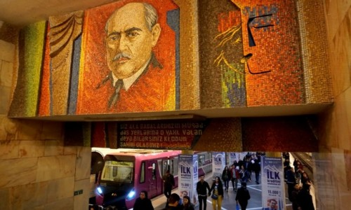 Zdjęcie AZERBEJDżAN / Baku / Baku / Stacja metra Nariman Narimanov