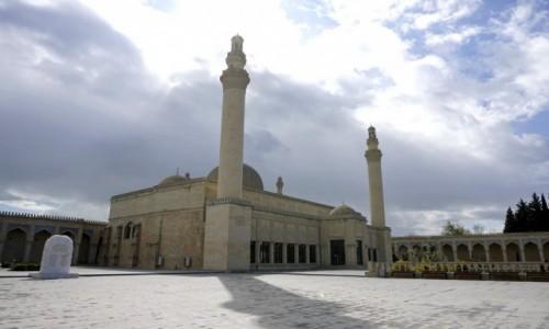 Zdjęcie AZERBEJDżAN / Szirwan / Szamachy / Meczet Dżuma w Szamachy