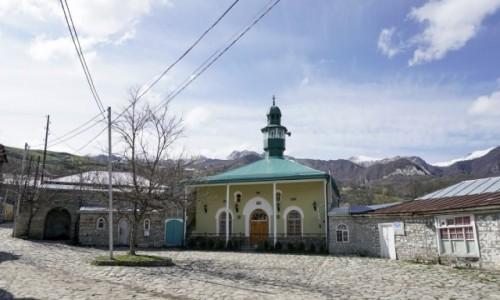 Zdjęcie AZERBEJDżAN / Szirwan / Lachicz / Jeden z meczetów w Lachicz