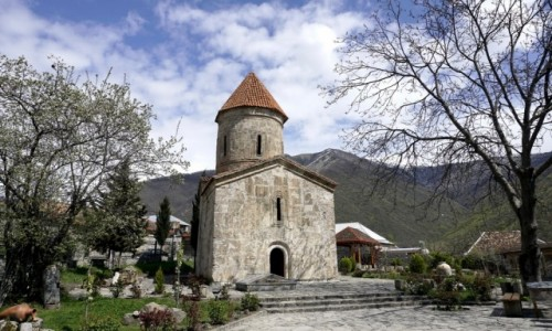 Zdjęcie AZERBEJDżAN / Szeki / Kisz / Kościół św. Elizeusza w wiosce Kisz