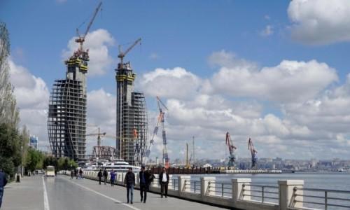 Zdjecie AZERBEJDżAN / Baku / Baku / Promenada i port w Baku
