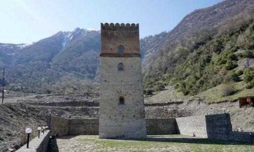 Zdjecie AZERBEJDżAN / Szeki / Ilisu / Wieża Sumug