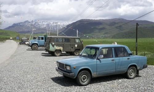 Zdjecie AZERBEJDżAN / Szirwan / Təzəkənd / Przegląd radzieckiej techniki motoryzacyjnej
