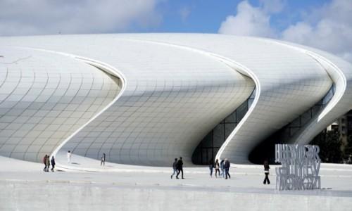 Zdjecie AZERBEJDżAN / Baku / Baku / Centrum Kulturalne im. Hejdara Alijewa