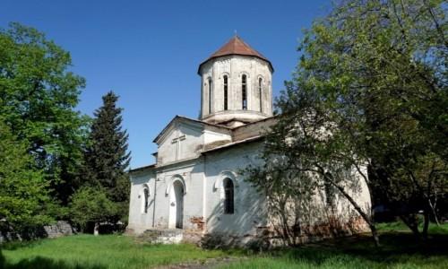Zdjecie AZERBEJDżAN / Szeki / Qax / Gruziński kościół w Gach