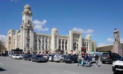 Zdjecie AZERBEJDżAN / - / Baku / Dworzec kolejowy w Baku