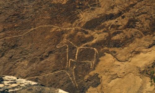 Zdjecie AZERBEJDżAN / środkowy Azerbejdżan / okolice Baku / Petroglify