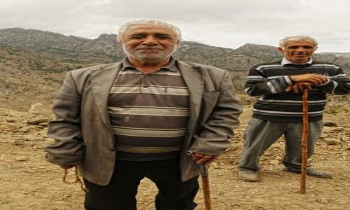 Zdjecie AZERBEJDżAN / płd. Azerbejdżan / ok. Orand / Pasterze z Orand