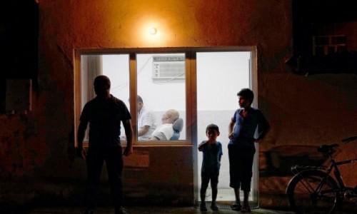 Zdjecie AZERBEJDżAN / płd. Azerbejdżan / płd. Azerbejdżan / U balwierza nocą....