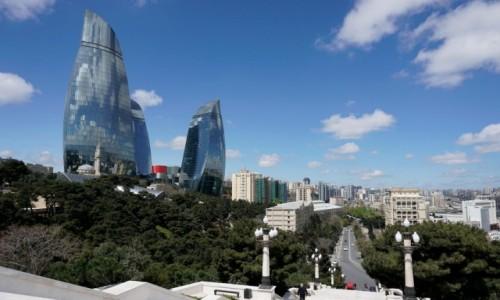 Zdjęcie AZERBEJDżAN / - / Baku / Ogniste wieże