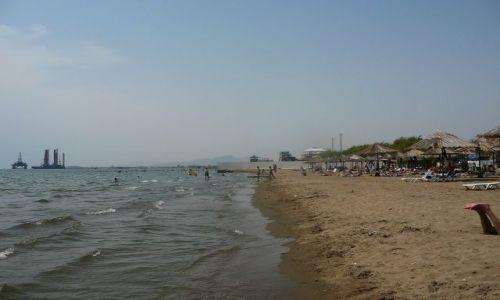Zdjecie AZERBEJDżAN / Baku / plaza / Plaża w Baku