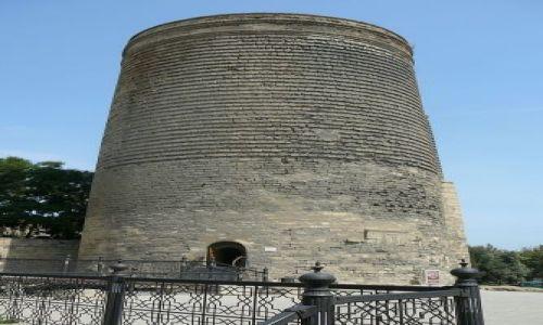 Zdjęcie AZERBEJDżAN / Baku / stare Miasto / Wieża dziewic